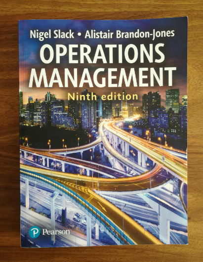 """Foto """"Buch Operations Management"""""""